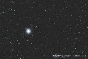 M13 - Great Cluster in Hercules by whiteLion07
