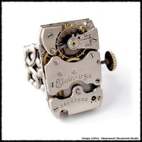 Retro Industrial Ring by SoulCatcher06