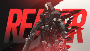 Overwatch - Reaper Wallpaper by MikoyaNx