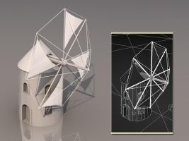 3D Work - Mill2 by tomkpunkt