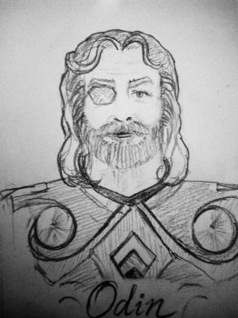 Odin by Adititwh