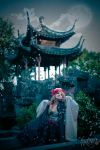 Under the paper moon by HauroCosplay