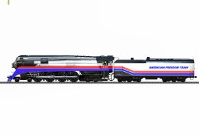 American Freedom Train 4449 by 736berkshire