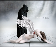 Fallen Angel by CyberAsero