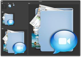 iChat Icon -Aquave- edited by Ranx-88