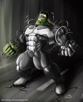 Venom-Hulk by canvanci