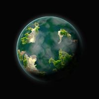 Green Ocean Planet 2 by juanosarg