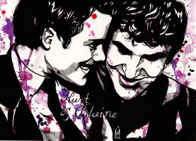 KLAINE - Kurt and Blaine by JosiECrashLove