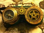 SteamPunk Goggles by NenaPerrill