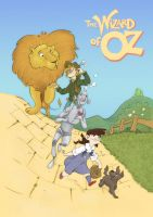 Wizards of Oz poster by Lelpel