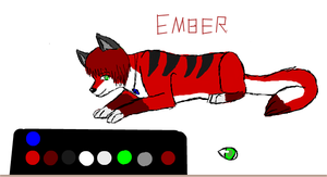 Collab- Ember New Reference by nellofox