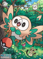 Rowlet by General-Mudkip