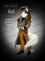 The Cloak Wolf by ColorfulArtist86