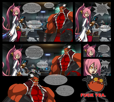 If you give a Kokonoe booze... by One-Mister-Badguy