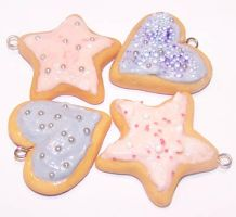 Frosted Sugar Cookies by PookieTookieJewelry