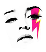 roisin face vector by vitornackly