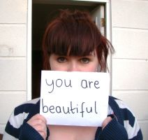you are beautiful by inadazeenlasnubes
