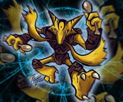 Ancient Alakazam by Patrick-Theater
