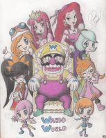 Wario World by Marindashy