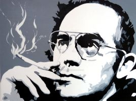 Hunter S Thompson by purposemaker