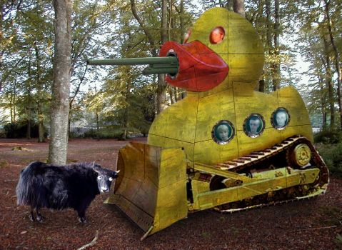 Duck tank... by narflebuttocks