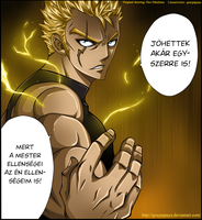 Fairy Tail - Laxus Dreyar by graypapaya