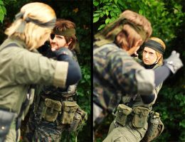 Master of Close Quarters Combat by TheJoy-MGS