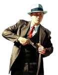 L.A. Noire cutout by SuperFlash1980