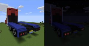 Transformers: Prime Optimus (Truck) - Back by NumairSalmalin