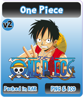 One Piece v2 - Anime Icon by Rizmannf