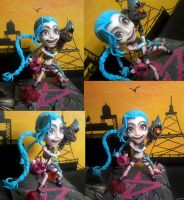 League of Legends Jinx by yuisama