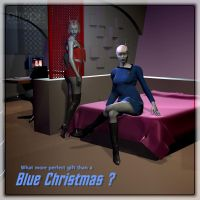 Blue Christmas by Ptrope
