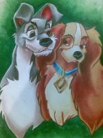 Lady and tramp by 071191