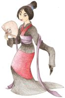 mulan-disney by humbly-bumbly-bee
