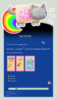 Nyan Cat Skin Version 1 by Metterschlingel