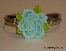 Rose Cuff Bracelet by sparx222