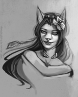 Whimsy Sketch by danielleclaire
