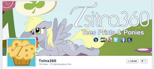 Derped Facebook Cover by Tsitra360