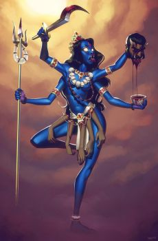 Kali, the Ego Slayer by lenadrofranci