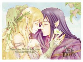 ElfTales Past so far by Sammina