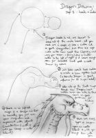 Dragon Tutorial 1 :heads by BleuCrusher