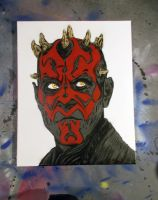 Darth Maul by kriminalrx