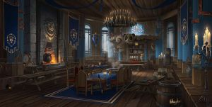 The Alliance Tavern - Pandaren's Pub by AnthonyAvon