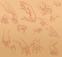 Buncha Hands by Adreean
