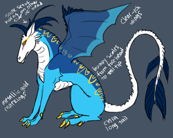 contest design dragon by blackmustang13