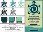 (Corp. ID) Frank's Massage Therapy Logo by Syrae-Universe