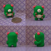 Blimble the Timid Monster by TimidMonsters