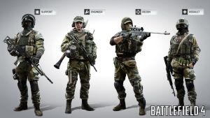 Battlefield 4: Russia MP soldiers by Bacurok