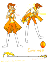 Gemsona - Citrine by DJHyena12