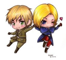APH Francis and Arthur by Liedeke